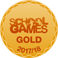 School Games Gold Kitemark Logo